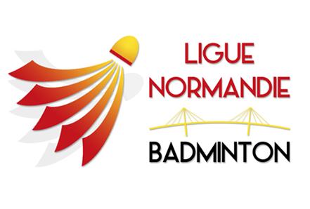 Logo Ligue Normandie Badminton
